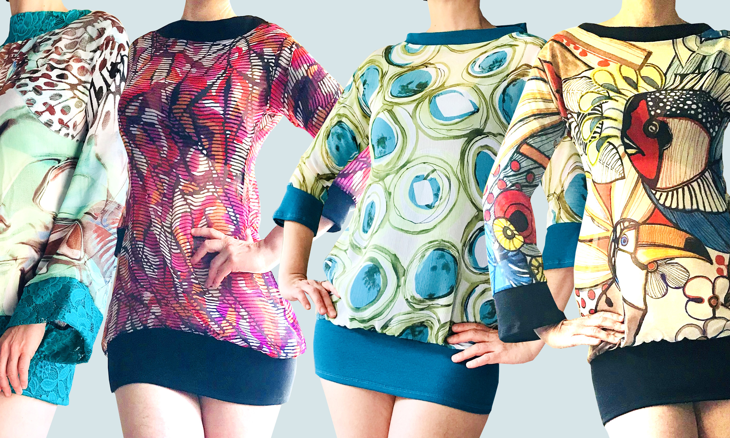 Dahrah, innovative, colorful and sustainable clothing brand based in The Netherlands.